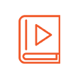 Flipbook orange 110x110